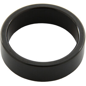 "Reverse Spacer 10mm 1 1/8"", black"